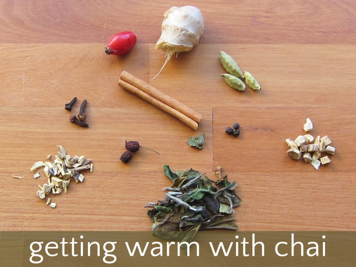 getting warm with chai