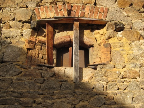 ancient window opening
