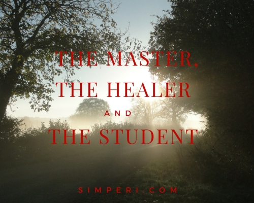 The master, the healer and the student