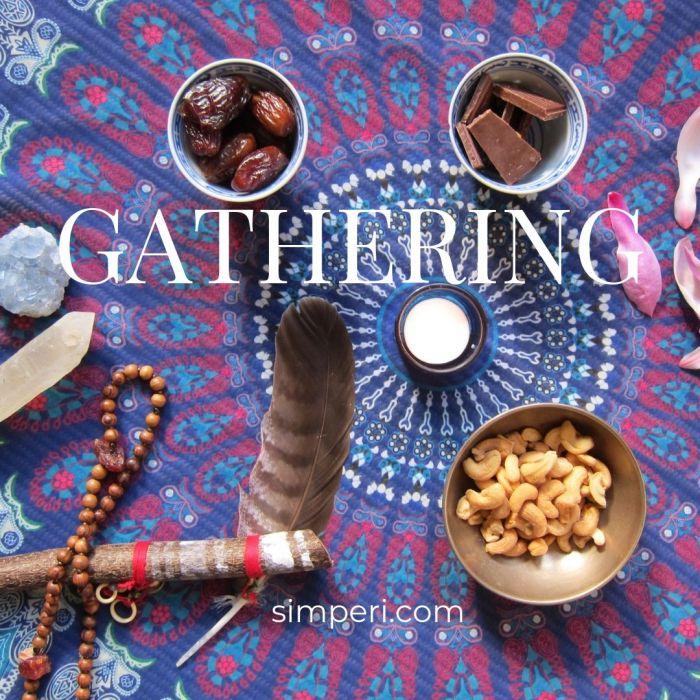 Gathering, Simperi